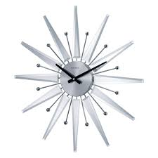 Bed Bath And Beyond Decorative Wall Clocks by Kiera Grace Vintage Mirrored 22