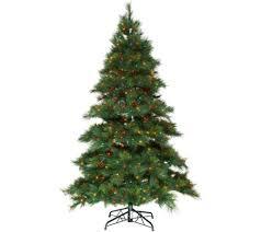 bethlehem lights 6 5 prelit needle pine tree page 1 qvc