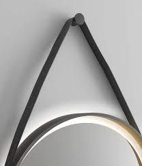 spiegel rund beleuchtet designspiegel talos golden summer