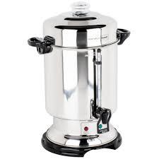 Hamilton Beach D50065 60 Cup 25 Gallon Stainless Steel Coffee Urn Percolator
