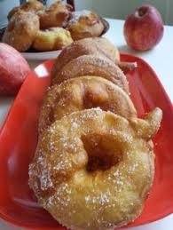 beignets aux pommes sans repos de la pâte recettes