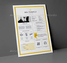 Best Free Resume Templates In PSD And AI 2018