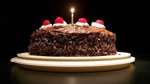 Chocolate Cake clipart happy bday 2