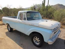 1961 Ford F100 Unibody Truck Turbocharged - Used Ford F-100 For Sale ...