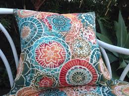 Decor Tips Turquoise Bohemian Outdoor Pillows For Attractive