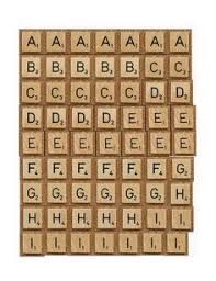 make your own scrabble letter tiles youtube images