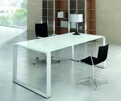 table bureau verre bureau verre trempe table bureau verre blanc seven 7 bureau verre