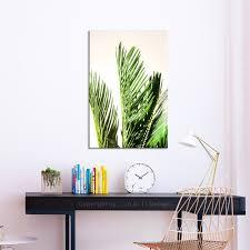 leinwand bilder pflanzen palme blumen wandbilder