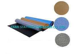 3 layers esd mat grounding anti static flooring rubber matting