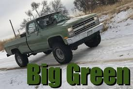 We Bought A 1985 Chevy K10: It's Big, Green, And Badass - The Fast ... Big Foot No1 Original Monster Truck Xl5 Tq84vdc Chg C Rolling Power Repulsor Mt Tire Review Stock Photo Safe To Use 26700604 Shutterstock Coinental Sponsors Brig Racing Series Champtruck Wheels Picture And Royalty Free Image Retro 10 Chevy Option Offered On 2018 Silverado Medium Duty Taking Big Tires Of Thrasher Monster Truck Transport After Event Chiefs Shop Project Part 1 Procharger Stainless Works New Result For Black Ford F150 Small Rims Tires 19972016 33 Offroad Custom Display During La Auto Show Editorial