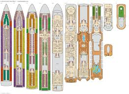 Carnival Conquest Deck Plans by Carnival Fantasy Riviera Deck Plan Tour