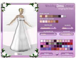 Draw Your Own Wedding Dress Games