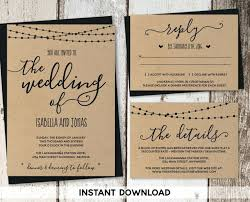 Country Style Wedding Invitations 9644 Also Western Invitation Templates Plus Rustic Blank Template