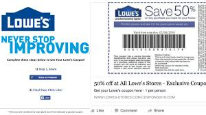 100 Rent Truck From Lowes That 50 Off Coupon Going Viral On Facebook Is Fake WQADcom