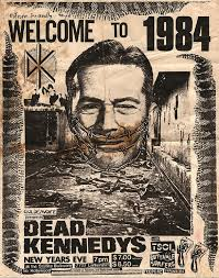 Dead Kennedys Halloween by Welcome To 1984 By Annex Punk Dead Kennedys Concert Poster Art