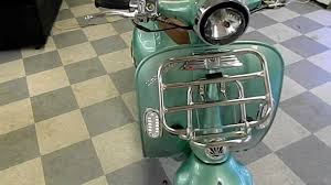 Retro And Vintage Vespa Style 150cc Scooters By HIGH STYLE