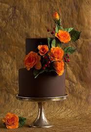 Beautiful Rustic Autumn Wedding Cake On Craftsy