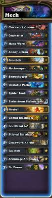 hearthstone deck list mech mage is mech mage alive format hearthstone modes