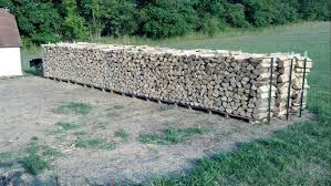 plans or tips for outdoor firewood rack