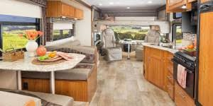 Class C Motorhome With Bunk Beds by Top 5 Best Motorhomes With Bunk Beds For The Kids Rvp