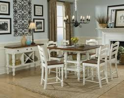 Remarkable Decoration Pub Style Dining Room Table Gorgeous Sets Set Bar