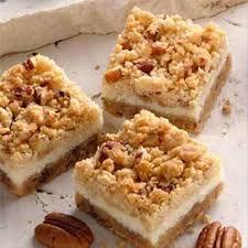 Pumpkin Gingersnap Cheesecake Bars by Pecan Cheesecake Bars Recipe Land O U0027lakes