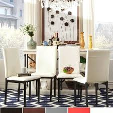 4 Dining Chairs Metal Upholstered Chair Set Of By Inspire Q Bold
