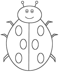 Image Of Ladybug Coloring Book Pages