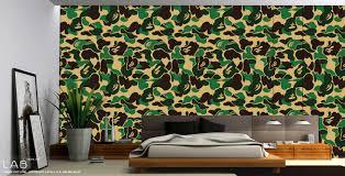 Camo Living Room Decorations by Camo Wallpaper For Room Decoration Usd39 00 L A B L A B