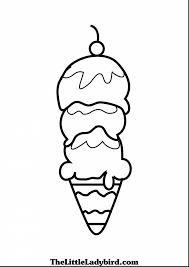 Outstanding Ice Cream Cone Coloring Page With Hanukkah Pages Printable And Colouring