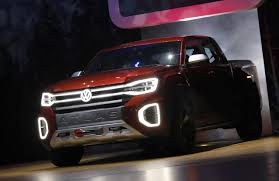 100 Volkswagen Truck Unveils Concept Pickup Truck At New York Auto Show Reuters