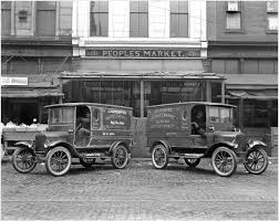 Some Old Trucks - Historic Photos Of Louisville Kentucky And Environs