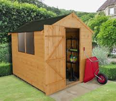 Cheap 6 X 8 Wooden Sheds by 6 X 8 Shiplap Dip Treated Apex Shed With Onduline Roof