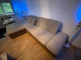 sofa bigsofa l form wohnzimmer sitzgarnitur beige braun