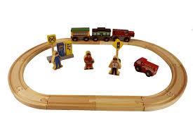 aliexpress com buy 70pcs set fashion wooden railway track toys