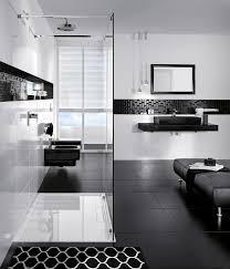 modernes badezimmer in schwarz weiß badezimmereinri