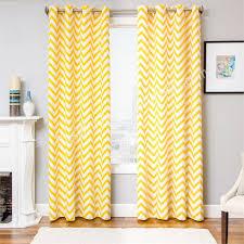 gallery for yellow chevron curtains yellow and white chevron