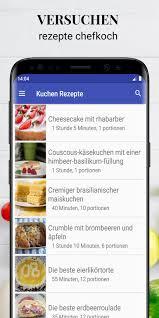 kuchen rezepte app in kostenlos offline pour android