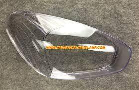 hyundai accent mc headlight lens cover foggy plastic glass shell