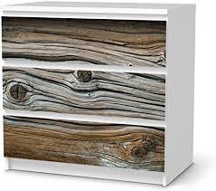 creatisto möbelfolie passend für ikea malm kommode 3 schubladen i möbeldeko möbel folie sticker i wohn deko ideen für wohnzimmer