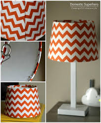 DIY Lamp Shade Makeover