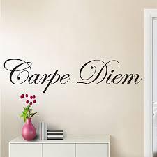 wandtattoo wandaufkleber wohnzimmer carpe diem schlafzimmer