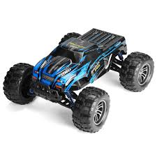 100 Monster Truck Remote Control Blue 43KMh 112 24GHz Car RC Electric Off Road Vehicle Car Toy Valentine Christmas Gift
