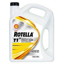 Oil Rain Lamp Motor by Shell Rotella T1 30w Heavy Duty Motor Oil 1 Gallon 5073795