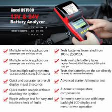 Ancel Bst500 12V 24V Car Battery Tester With Thermal Printer Car ... Heavy Duty Trucks Batteries For Battery Box Parts Sale Redpoint Cover 61998 Ford F7hz10a687aa Tesla Semi Competion With 140 Kwh Battery Emerges Before Reveal Durastart 6volt Farm C41 Cca 975 663shd Cargo Super Shd Commercial Rated Actortruck 6v 24 Mo 640 By At 12v24v Car Tester Analyzer Ancel Bst500 With Printer For Deep Cycle 12v 230ah Solar Advice Diehard Automotive Group Size Ep124r Price Exchange Smart Power Torque Magazine