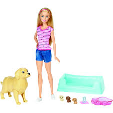 Barbie Newborn Pups Doll Pets BIG W