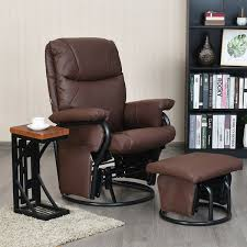 Glider Swivel Rocking PU Leather Recliner Chair | Furniture ... Recpro Charles 30 Rv Recliner Swivel Glider Rocker Chair Euclid Wooden Como Delta Children Blair Slim Nursery Taupe Clair Outsunny Patio Rocking 2 Person Outdoor Loveseat Garden Fniture Bench Pu Leather Kenwood French Grey Walmartcom Chairs Gliders Kohls Harriet Yabird Baby