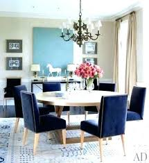 Elegant Navy Blue Dining Chair Covers
