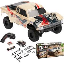 100 Trophy Truck Suspension Kits NEW Axial AX90052 118 Yeti Jr SCORE 4WD RTR WRadio