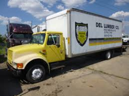 100 24 Foot Box Trucks For Sale International 4700 In Ohio Used On